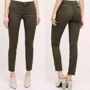 Hei Hei Anthropologie Sateen Skinny Pants